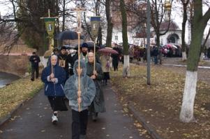 Серия из 12 крестных ходов по территории Орловской области завершилась 4 ноября в Орле