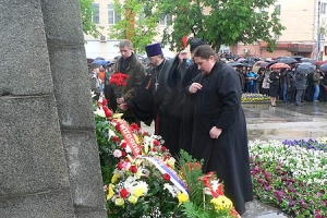 Духовенство Орловской епархии почтило память павших в годы Великой Отечественной войны