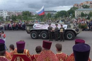 Частица мощей благоверного князя Александра Невского доставлена в Орел