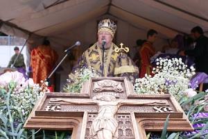 Слово Высокопреосвященнейшего архиепископа Пантелеимона после Божественной литургии на плацу Академии ФСО РФ