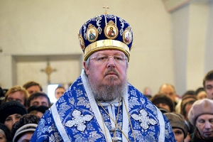 Слово Высокопреосвященнейшего архиепископа Пантелеимона по окончании Божественной литургии в Свято-Троицком храме