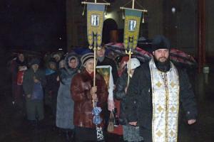 В Рождественскую ночь в Орле состоялся городской крестный ход