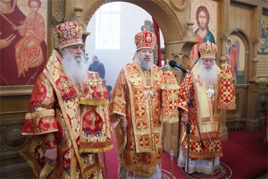 Слово архиепископа Антония после Божественной литургии в монастыре святого Кукши
