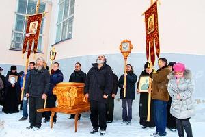 В Болхове отметили 13-ю годовщину обретения мощей священноисповедника Георгия Коссова. Фоторепортаж