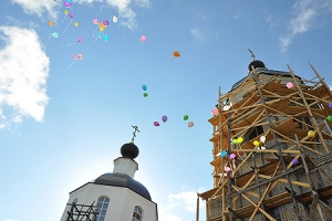 Ливенский храм во имя Великомученика и Победоносца Георгия отметил свое 10-летие