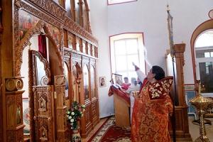 В Успенском храме с. Теличье установлен новый иконостас