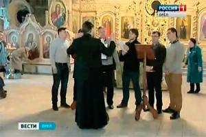 В Богоявленском соборе Орла можно услышать мужской хор, аналога которому в области нет