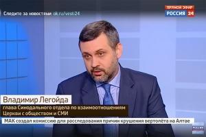 Владимир Легойда: Протестующих Исаакий не волнует — им нужно взвинтить градус по