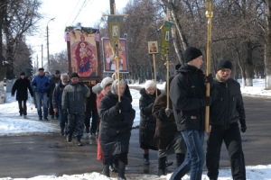 Крестный ход в день Державной иконы Божией Матери