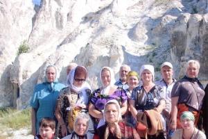 Учащиеся воскресной школы глухих и слабослышащих побывали в Дивногорском  монастыре Воронежской епархии