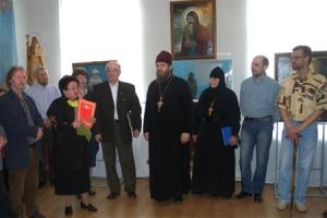 На Светлой Седмице в музее И.С.Тургенева открылась выставка Артели православных художников