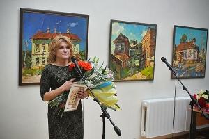 В Орле открылась выставка православной художницы Ольги Сорокиной
