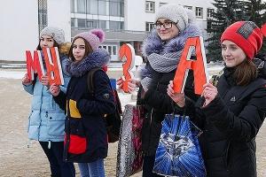 Мценская православная молодежь провела акцию «За жизнь! Против абортов»
