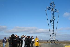 В Болховском районе в память о сражении Смутного времени установлен поклонный кр