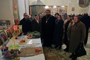 В Богоявленском соборе прошла традиционная выставка работ учащихся Центра правос