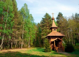 В Хотынецком  районе установят Поклонный Крест на месте строительства храма