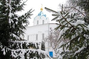 В престольный праздник Свято-Введенского монастыря епископ Нектарий совершил лит