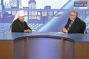 Митрополит Антоний рассказал о важнейших событиях 2017 года в эфире программы «Контакт»