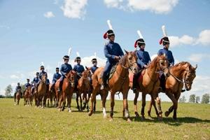 Болхов посетили участники конного похода «Москва-Берлин»