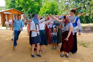 В Корсуни прошел фестиваль летнего веселья «Корсунь Владимирская»