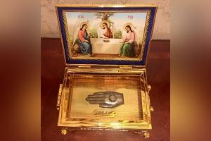 В НКМЦ имени Круглой передадут частицу мощей святого праведного Лазаря Четверодн