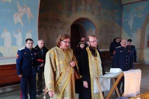 Во Мценске молились о жертвах геноцида казачества
