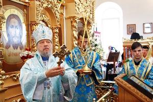 Митрополит Антоний возглавил торжества в честь Балыкинской иконы Божией Матери в