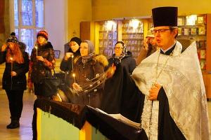 Орловчане молились о жертвах кемеровской трагедии