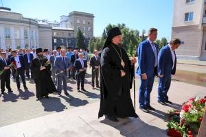 Орловское духовенство приняло участие в церемонии памяти погибших в годы Великой Отечественной войны
