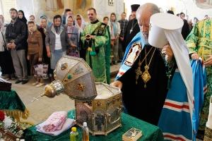 Завтра в Ахтырском соборе состоится торжественная встреча мощей свт. Спиридона Тримифунтского
