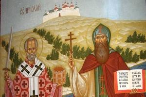 Петербургский иконописец написал для Болхова икону Николая Чудотворца и священномученика Кукши