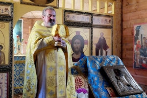 В жудерском храме впервые совершена литургия