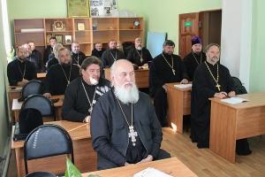 В Орле начали работу курсы повышения квалификации священнослужителей