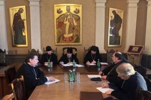 Митрополит Антоний возглавил заседание Архиерейского совета Орловской митрополии