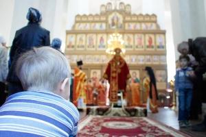 Архиерейское служение в монастыре святого Кукши Мценского района. Фоторепортаж