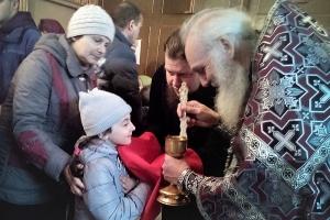 В селе Паюсово под Орлом впервые за 80 лет совершена литургия