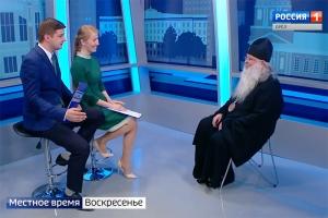 Митрополит Тихон рассказал о своем духовном пути в эфире программы «Вести Орел. События недели»