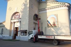 Новости Михаило-Архангельского храма: экскурсия для инвалидов, новые надранные иконы, молодежное поздравление