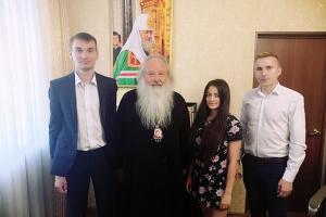 Владыка Тихон встретился с активистами «Скорой Молодежной Помощи»