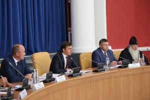 Архипастырь принял участие в августовском совещании педагогов Орловского региона