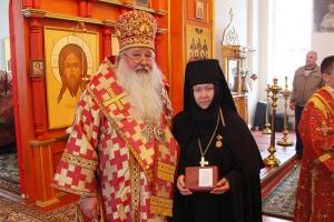 В праздник обновления храма Воскресения Христова в Иерусалиме митрополит Тихон посетил монастырь в Долбенкино