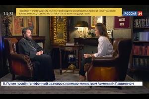 Митрополит Иларион: Первыми жертвами террора экстремистов на Ближнем Востоке стали христиане