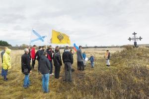 Добровольцев вооруженных сил Юга России молитвенно помянули в сотую годовщину их гибели