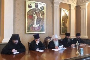 Состоялоась заседание епархиального совета Орловской епархии