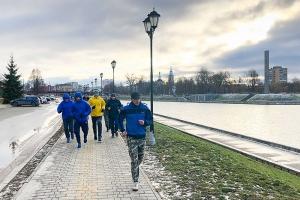 Православные орловчане встретили Новый год на «Муромской дорожке»
