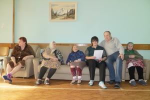 В Богдановском доме-интернате прошли святочные встречи