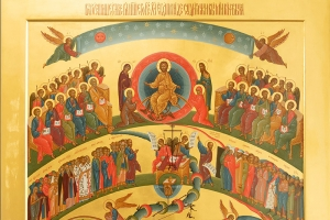 В канун Недели мясопустной митрополит Тихон совершил богослужение в Ахтырском соборе