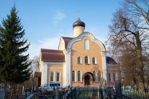 Накануне родительской субботы митрополит Тихон совершил заупокойное богослужение в Воскресенском храме Орла