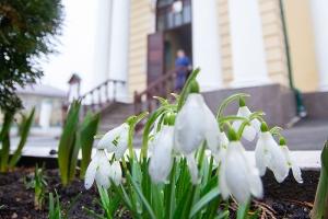 Владыка Тихон возглавил празднование Торжества Православия в Ахтырском соборе