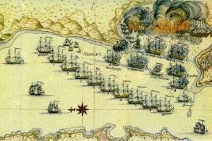 В Болхове состоялась панихида по землякам — участникам Чесменского сражения